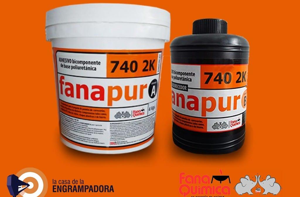 FANAPUR 740   Adhesivo de Poliuretano para Pisos y Paneles.